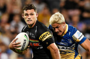 Nathan Cleary leads the Panthers' hopes of reaching the preliminary final.