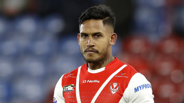 Contention: Ben Barba is in the running to farewell English Super League with the Man of Steel award.