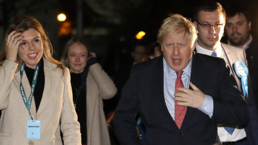 Boris Johnson said promised to deliver a One Nation conservative government.