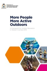 The WA government's 2019 outdoor recreation plan.