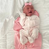 The couple welcomed newborn Blake Palmer Penn last week.