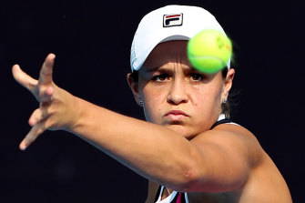 Ashleigh Barty's winning ways have continued in Beijing.