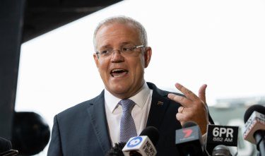 Australian Prime Minister Scott Morrison commits $70m for roadworks in a key marginal seat.