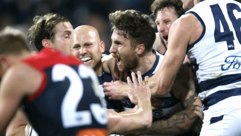 Was this the match of Season 2018? Zach Tuohy won the game after the siren for the Cats.