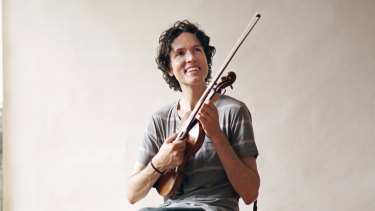 American violinist Tim Fain was soloist  in Max Richter's <i>Four Seasons Reimagined</i>.