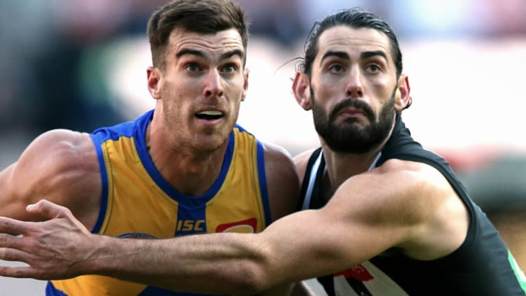 Scott Lycett and Brodie Grundy.