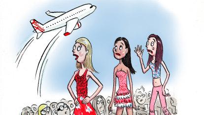 CBD Melbourne: Fashion festival to take off despite Virgin grounding