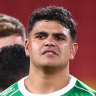Does Latrell Mitchell want to be crying from the stands like Sam Burgess?