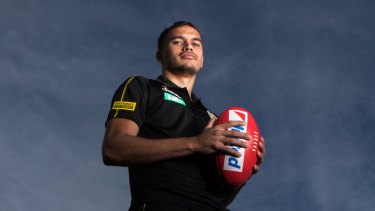 Sydney Stack says the Tigers have embraced him just the way he is.