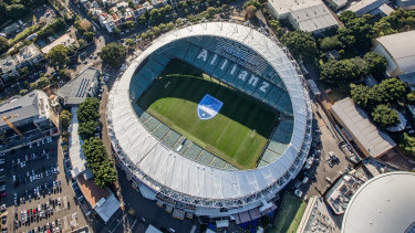 Allianz Stadium requires significant capital investment to remain operational, Infrastructure NSW says.