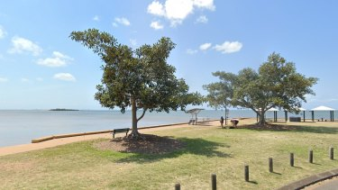 Open water off Reserve Esplanade in Wellington Point in Redland City, east of Brisbane.