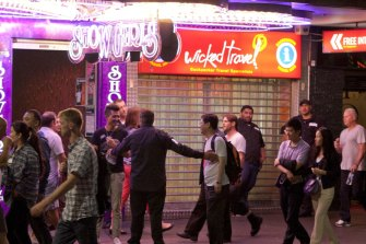 The former red-light district's boozy days are behind it.