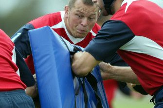 Former England international Steve Thompson this week said he 'cannot remember' winning the 2003 Rugby World Cup in Australia.