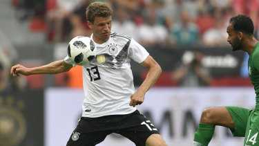 Germany's Thomas Muller.