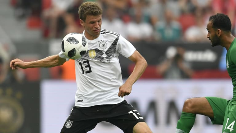 Germany's Thomas Muller.