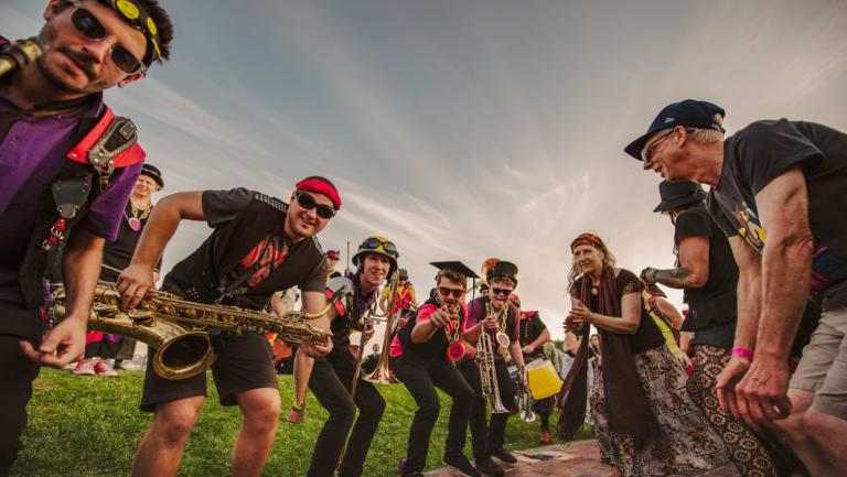 Junkadelic Brass Band.