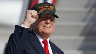 Donald Trump, as a Republican presidential candidate, in 2016.