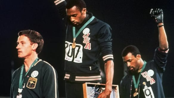Finally, the real story about Peter Norman and the black power salute