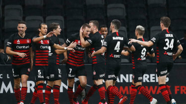 Stood down: Western Sydney Wanderers will not pay their players and staff until the A-League resumes.