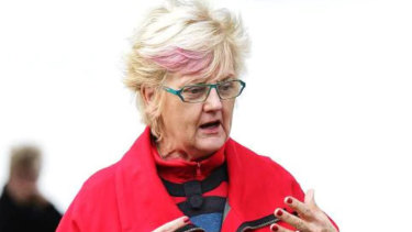 Former councillor Helen McCaffrey will continue her evidence on Tuesday.