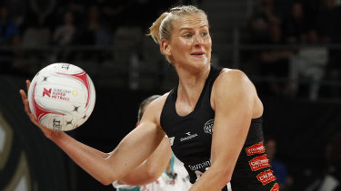 After World Cup heartbreak, April Brandley is back raring to go with the Magpies.