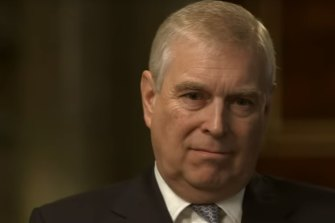 Prince Andrew in the ''disastrous'' BBC interview about his friendship with the paedophile Jeffrey Epstein.