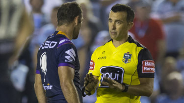 Smith's chats with referees are enough to send rival fans apoplectic with rage.