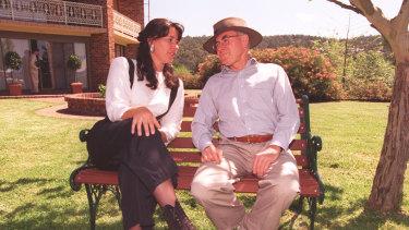 Jackie Kelly with John Howard in 1996.