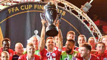 Uncertain future: Fox Sports could look to on-sell rights to the FFA Cup amid financial issues at the pay-TV broadcaster.