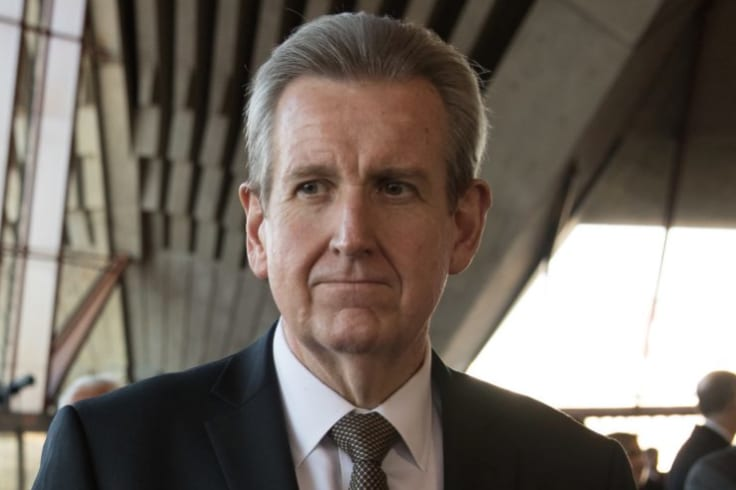 Former Liberal premier of NSW Barry O'Farrell, who is now the Racing Australia chief executive, was copied on the correspondence.