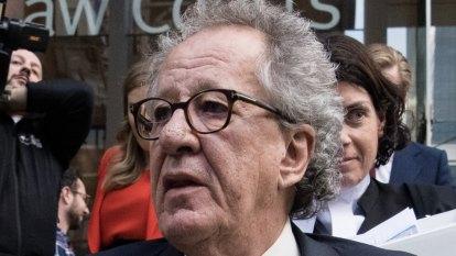 Judge refuses to grant gag order in Geoffrey Rush defamation case