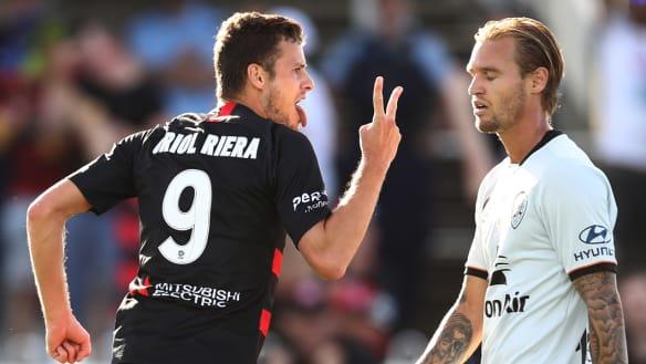 Wanderers squander advantage as Brisbane snatch draw in Mudgee