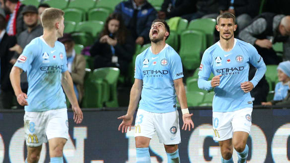 Bruno Fornaroli (centre) has been out for a month.