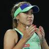 As it happened: Kenin fights back to win 2020 Australian Open women's final in three sets against Muguruza