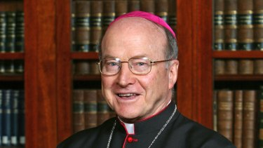 Former Archbishop of Brisbane John Bathersby.