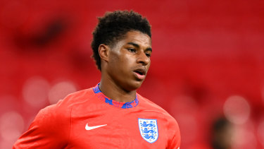 Marcus Rashford, a Manchester United striker and member of the English national team, has morphed from sportsman to statesman.