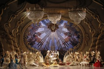 The season will kick off with McAllister's 2015 production of The Sleeping Beauty.