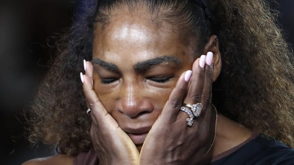 Rendering of Serena Williams plays to the delinquency of our thinking
