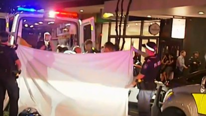 Teen fighting for life after three stabbed in Brisbane hotel