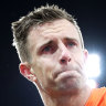 Giants can win it without me, says 'cooked' Deledio
