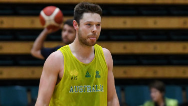 NBA championship winner Matthew Dellavedova will be a walk-up start for Australia's World Cup squad barring injuury.