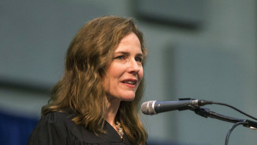 Amy Coney Barrett, United States Court of Appeals for the Seventh Circuit judge, is seen as the frontrunner to fill Ruth Bader Ginsburg's Supreme Court seat.