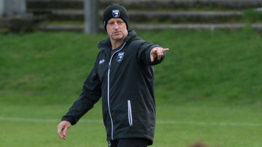 Fresh challenge: Michael Maguire will take the Tigers into the new season.