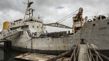 Lighthouse supply ship resurrected as floating museum