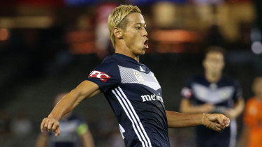 Keisuke Honda will link up with his Victory teammates in WA on Friday.