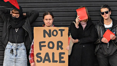 Anarchy among anarchists as anti-capitalist clubhouse listed for sale