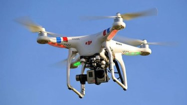 There are no specific laws banning the use of drones around Queensland's prisons.