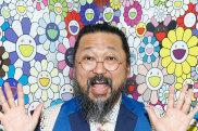 Murakami's signature style is a cartoonish abundance of the seemingly cute.