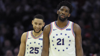 Joel Embiid 'disappointed' with Ben Simmons