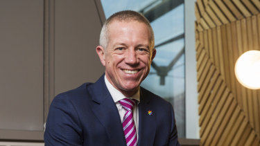 NAB's chief customer officer for business and private banking, Anthony Healy, is upbeat on the business credit outlook.